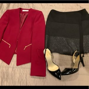 Business Professional Outfit by Tahari & WHBM